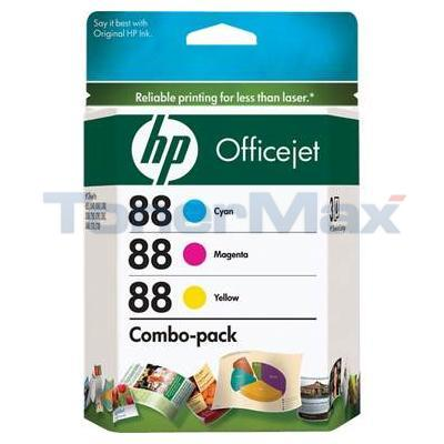 HP NO 88 INK TRI-COLOR COMBO-PACK